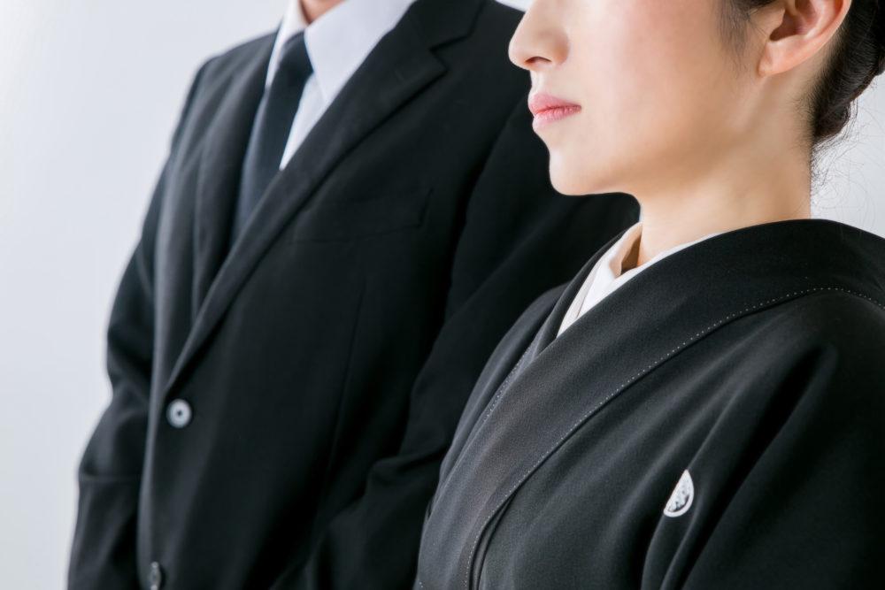 参列者の服装:葬儀に参列する場合の服装